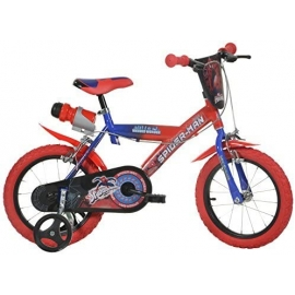 Vélo enfant 14'' Dinobikes Spiderman