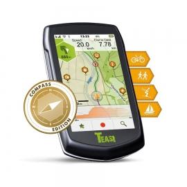 Teasi One 3 Extend Compass GPS vélo, randonné pédestre, ski et bateau avec support guidon
