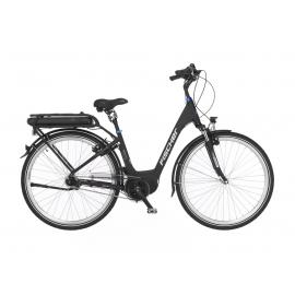 Vélo de ville électrique 28'' Fischer ECU 2063 moteur central Bafang /48 volt