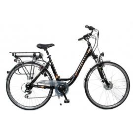 Vélo électrique 28'' Leader Sara SE, 36 volt / 11 Ah / 396 Wh.