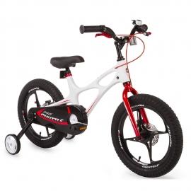 Vélo enfant 16'' Royalbaby Spaceshuttle, cadre magnesium, freins à disque